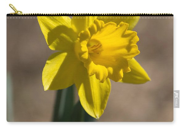 Daffodil In Early Spring Carry-all Pouch