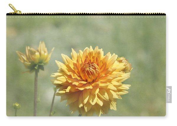 Dahlia Flowers Carry-all Pouch
