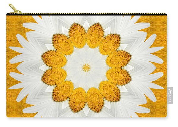 Daisy Mandala 03 Carry-all Pouch