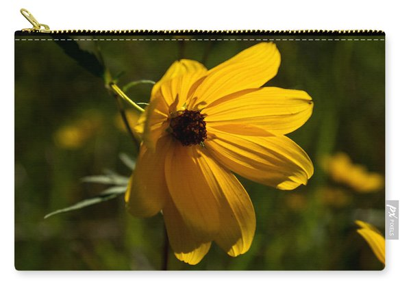Daisy With A Back Glow Carry-all Pouch