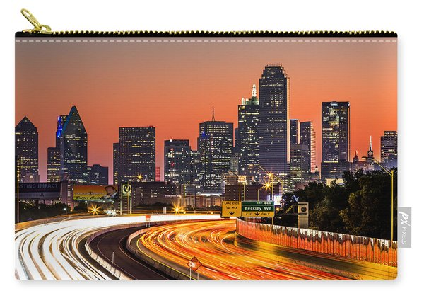 Dallas Sunrise Carry-all Pouch