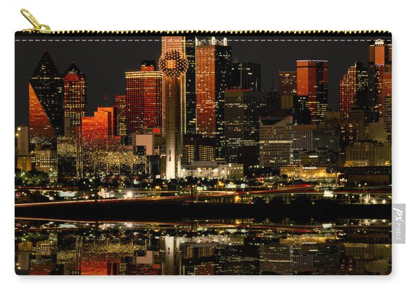 Dallas Texas Night Carry-all Pouch