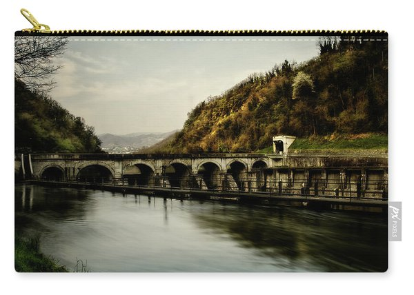 Dam On Adda River Carry-all Pouch