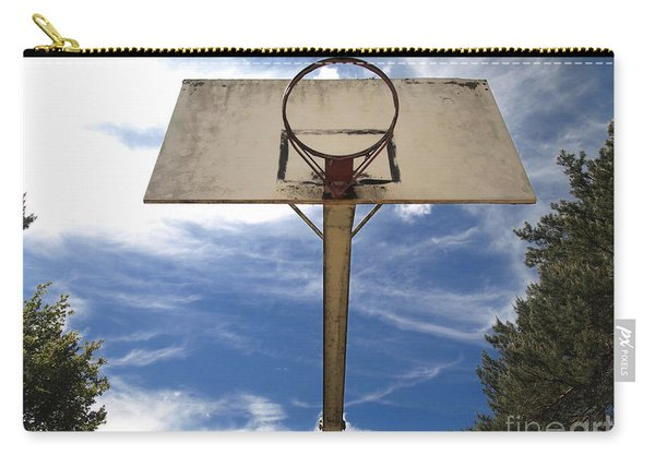 Damged Basketball Hoop Carry-all Pouch