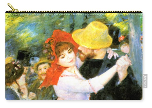 Dance At Bougival Detail Carry-all Pouch