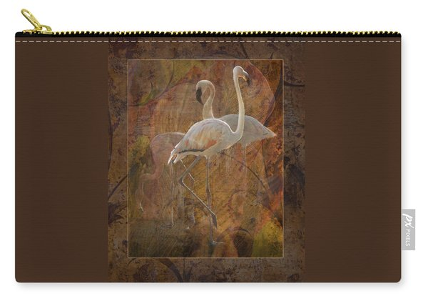 Dance Of The Flamingos Carry-all Pouch