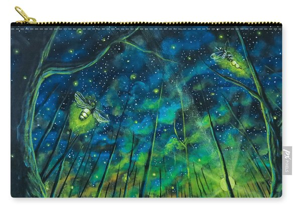 Carry-all Pouch featuring the painting Dance The Night Away by Joel Tesch