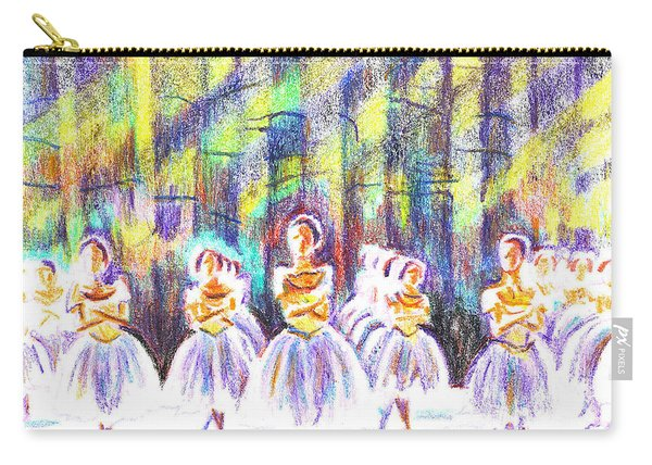 Dancers In The Forest Carry-all Pouch