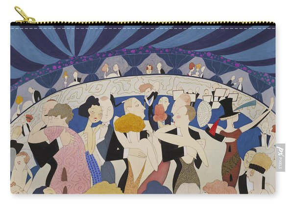 Dancing Couples Carry-all Pouch