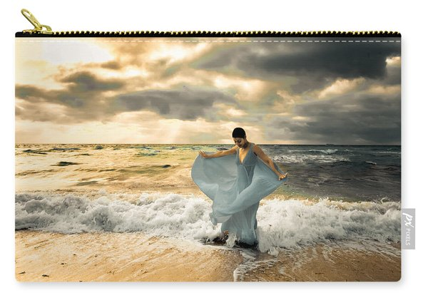 Dancing In The Surf Carry-all Pouch