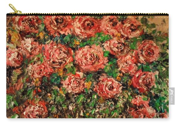 Dancing Red Roses Carry-all Pouch
