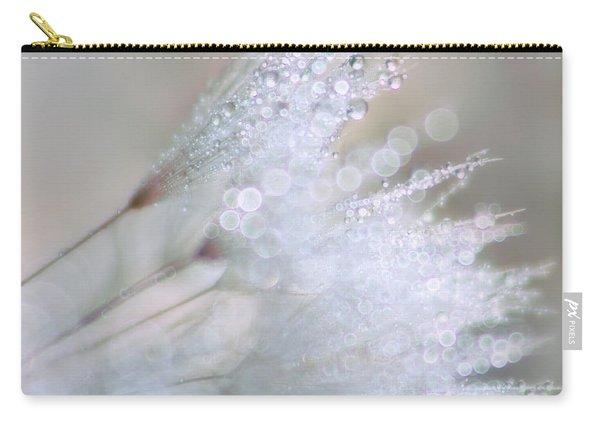 Dandelion Bling Bokeh Carry-all Pouch