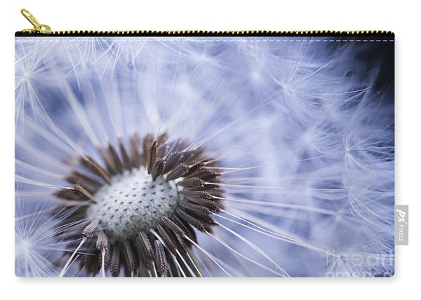Dandelion With Seeds Carry-all Pouch