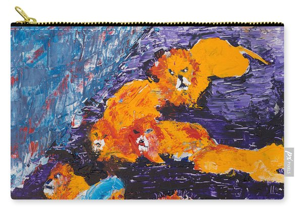 Daniel And The Lions Carry-all Pouch