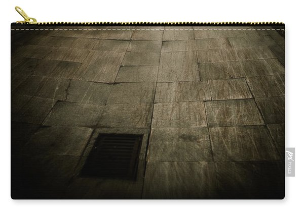 Dark Alley In Old Historic City Carry-all Pouch