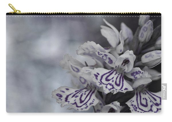 Dark Angel Of Flowers Carry-all Pouch