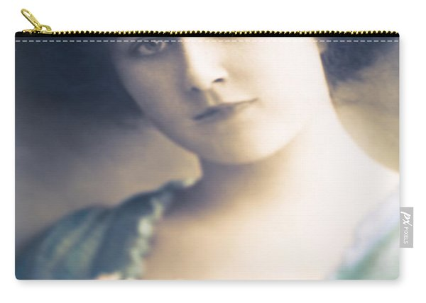 Dark Haired Beauty Carry-all Pouch
