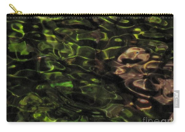 Dark Watery Green Carry-all Pouch