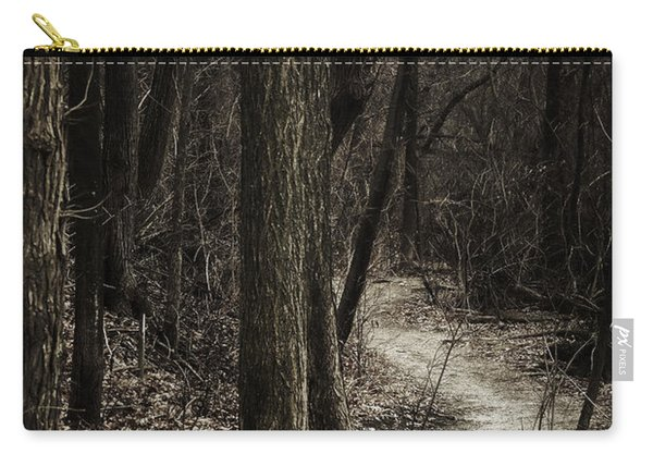 Dark Winding Path Carry-all Pouch