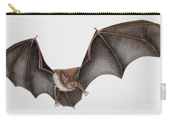 Daubentons Bat Myotis Daubentonii - Murin De Daubenton-murcielago Ribereno-vespertilio Di Daubenton Carry-all Pouch