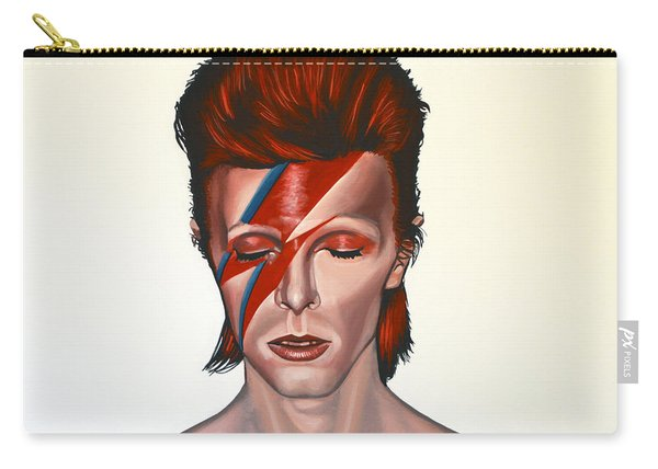 David Bowie Aladdin Sane Carry-all Pouch