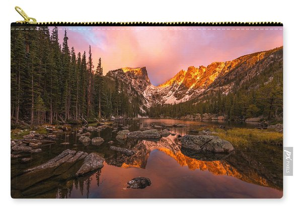 Carry-all Pouch featuring the photograph Dawn Of Dreams by Dustin  LeFevre