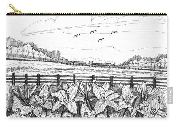 Day Lilies At Northwind Farms Carry-all Pouch