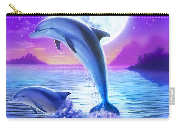 Day Of The Dolphin Carry-all Pouch