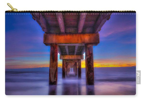 Daybreak At The Pier Carry-all Pouch