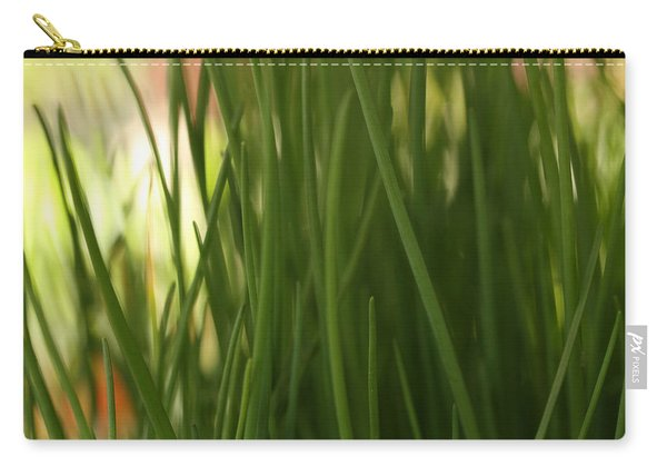 Daylight On Chives  Carry-all Pouch