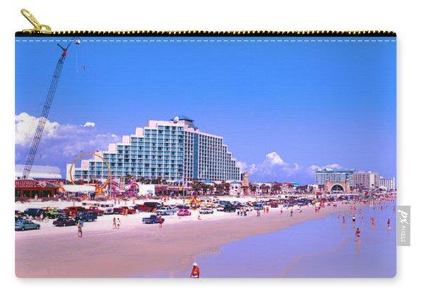 Daytona Main Street Pier And Beach  Carry-all Pouch