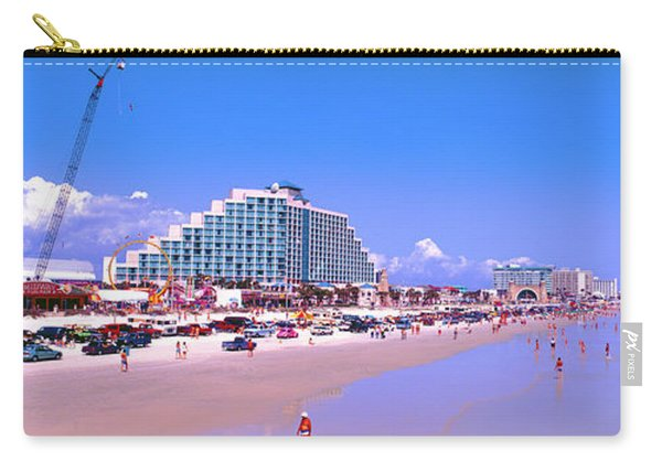 Daytona Main Street Pier And Beach  Carry-all Pouch
