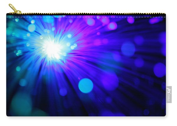 Dazzling Blue Carry-all Pouch