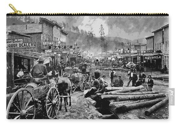 Deadwood South Dakota C. 1876 Carry-all Pouch