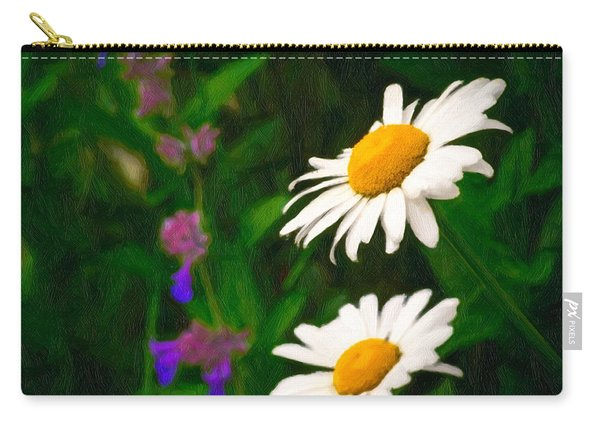 Carry-all Pouch featuring the photograph Dear Daisy by Garvin Hunter