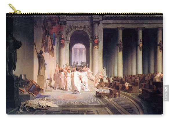 Death Of Caesar Carry-all Pouch