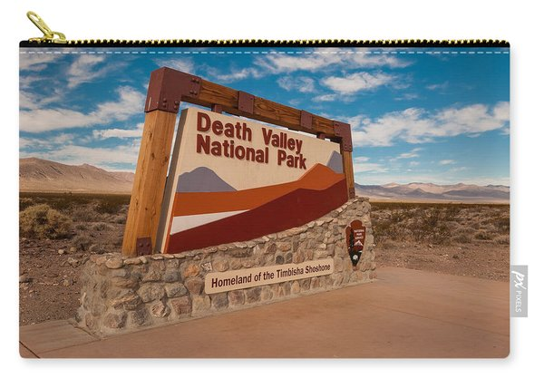 Death Valley Entry Carry-all Pouch