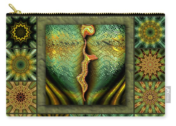 Decaying Moon Redux Carry-all Pouch