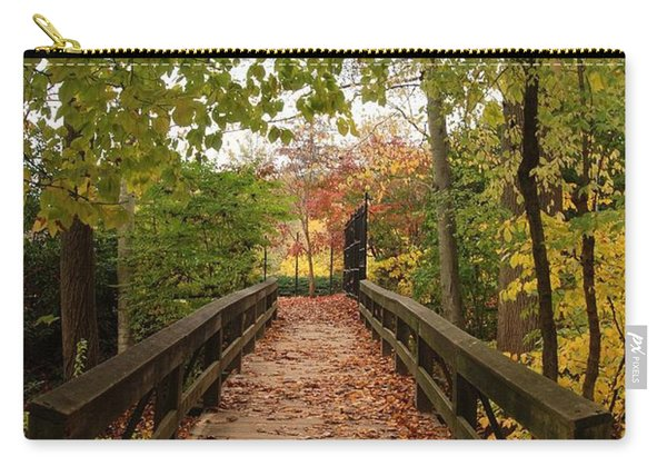 Decorate With Leaves - Holmdel Park Carry-all Pouch