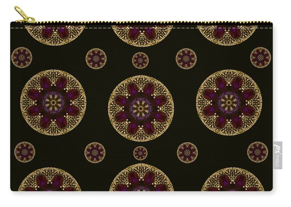 Decorative Pearls Pattern Carry-all Pouch