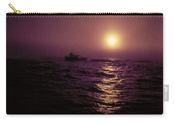 Deep Sea Fishing Off West Port Wa II Carry-all Pouch