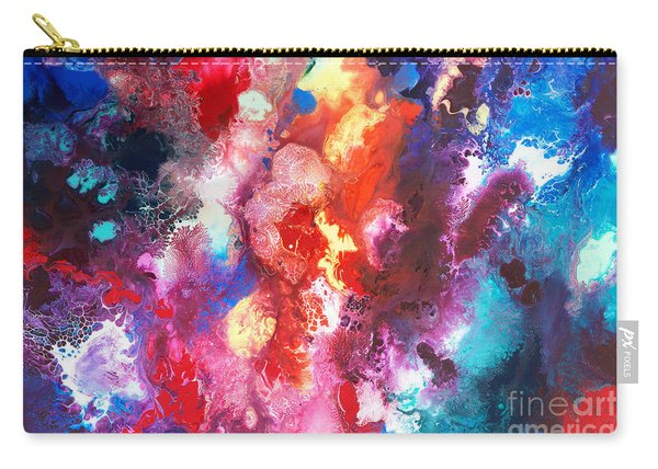 Deep Water Coral Carry-all Pouch