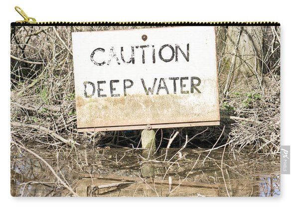 Deep Water Sign Carry-all Pouch