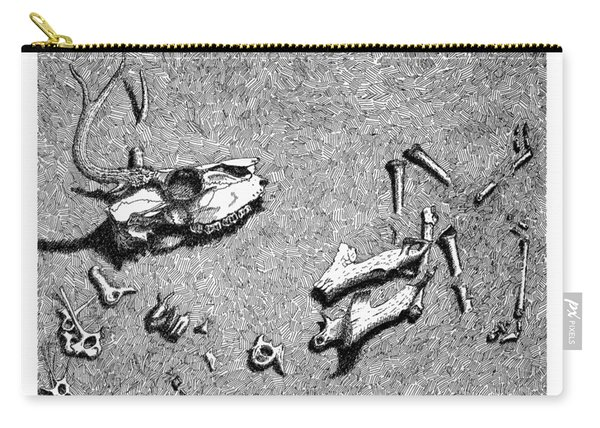 Deer Bones Carry-all Pouch