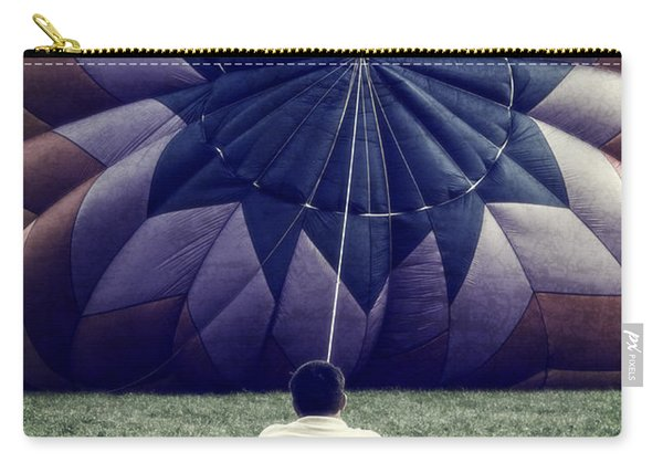 Deflated Carry-all Pouch