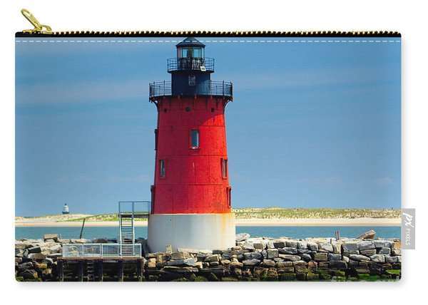 Delaware Breakwater Lighthouse Carry-all Pouch