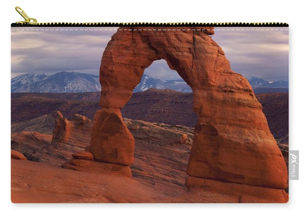 Delicate Arch Dusk Carry-all Pouch