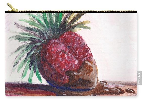 Delightfully Delectable 2 Strawberry Carry-all Pouch