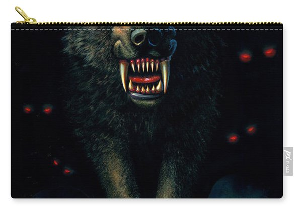 Demon Wolf Carry-all Pouch