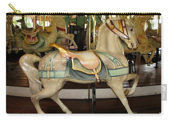 Dentzel Menagerie Carousel Horse Carry-all Pouch